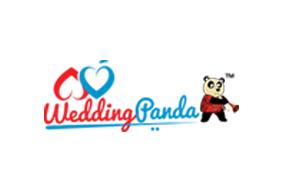 Wedding panda logo