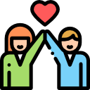friendship vector png