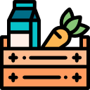 multi store grocery icon