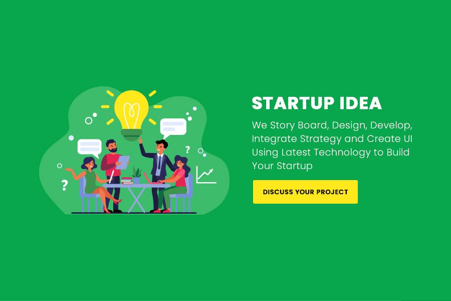 startup Idea slider background