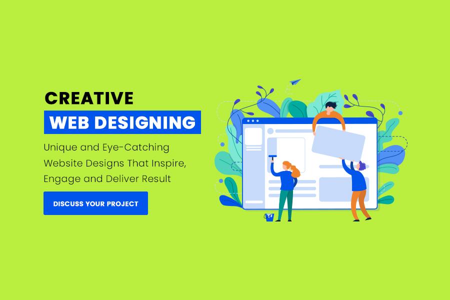 Creative Web Designing slider background